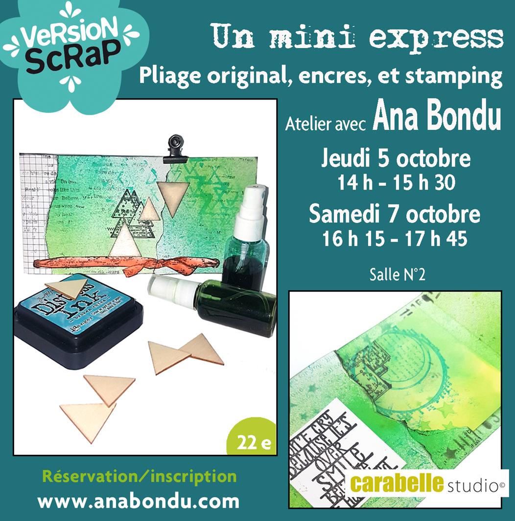 Ana Bondu Atelier 1 Mini express
